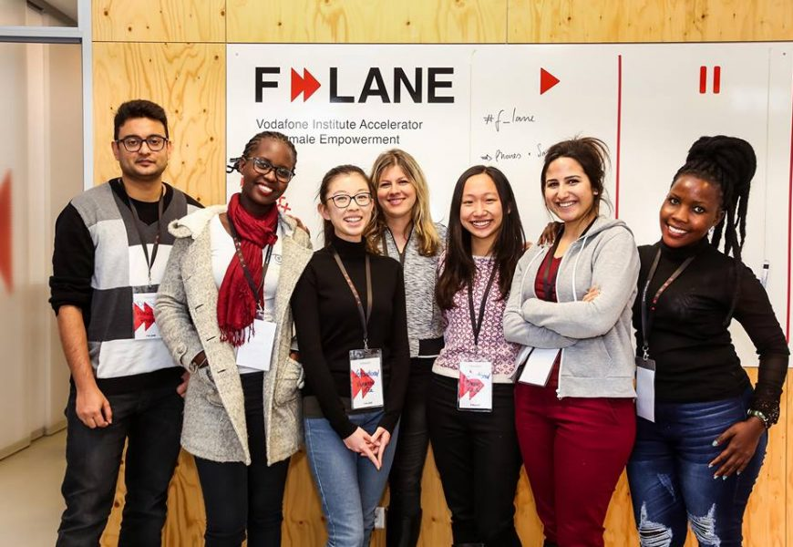 Vodafone Institute F-LANE Acceleration Program for Female Empowerment 2019 (Up to 12,000 EUR)