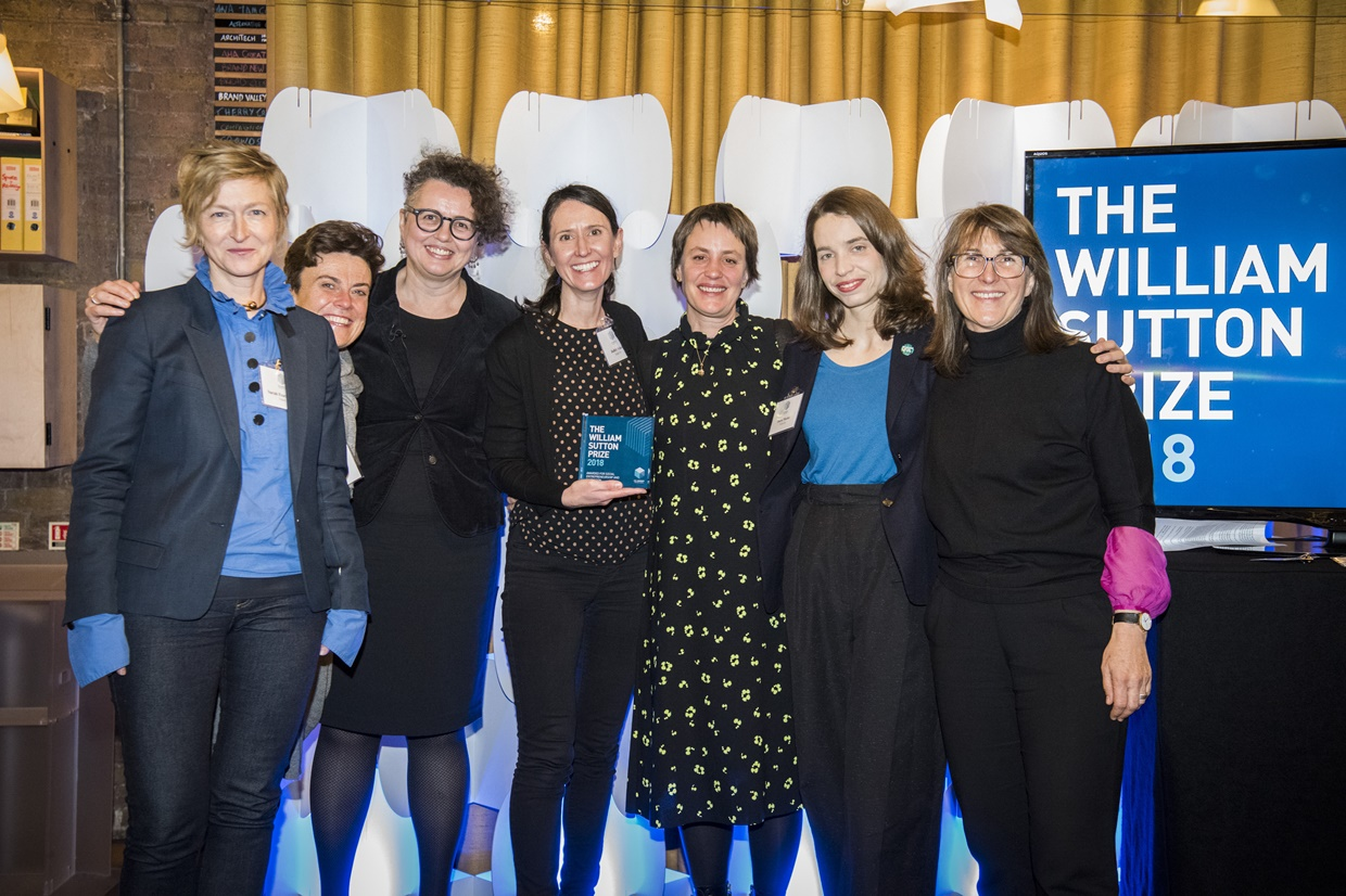 William Sutton Prize for Social Innovation 2019 (Up to £20,000)