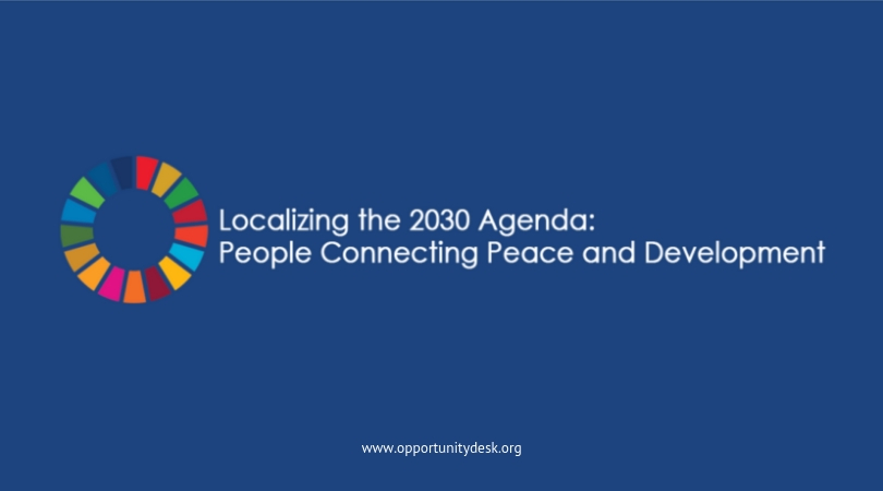 International Peace Institute/UN Human Security Unit's 2019 Localizing the 2030 Agenda Forum (Fully-funded to Banjul, The Gambia)