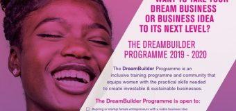 Academy For Women Entrepreneurs (AWE) DreamBuilder Programme 2019/2020