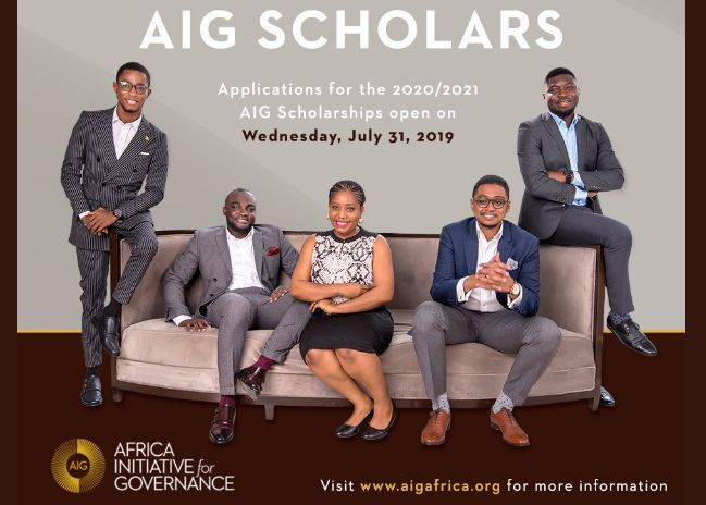 Africa Initiative for Governance (AIG) Scholarships 2020/2021 for Master's Study in the University of Oxford (Fully-funded)