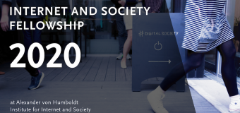 Alexander von Humboldt Internet and Society Fellowship 2020 for Researchers (Funding available)