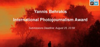 Athens Photo World Yannis Behrakis International Photojournalism Award 2019 (€15,000 cash prize)
