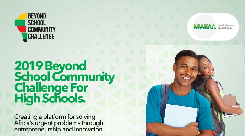 MWFAAN Beyond School Community Challenge 2019 for Nigerian Secondary School Students (Up to N1 million in Cash Prizes)