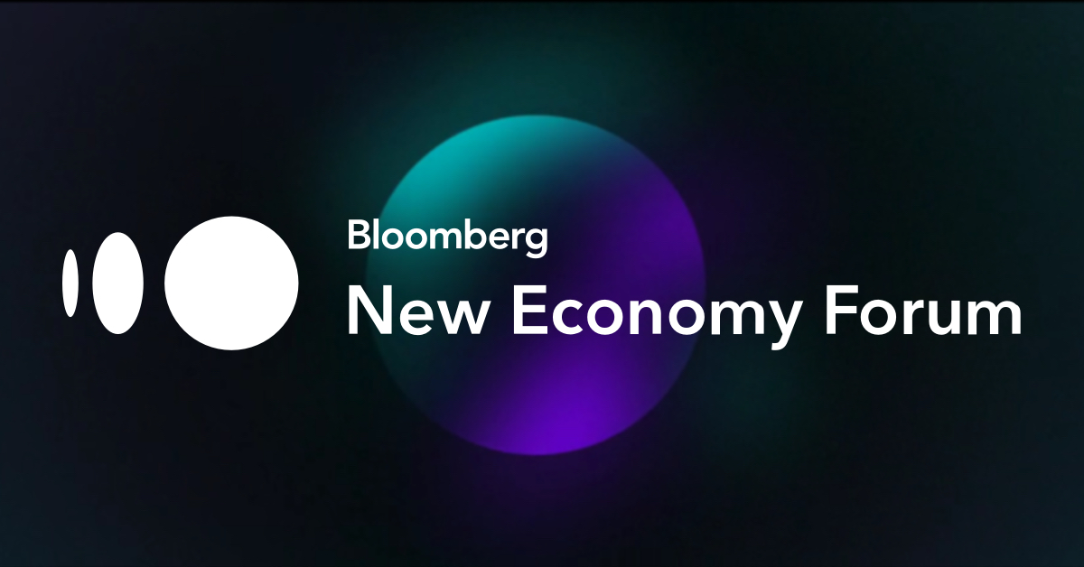 Bloomberg New Economy Forum is seeking Solutions from Innovators