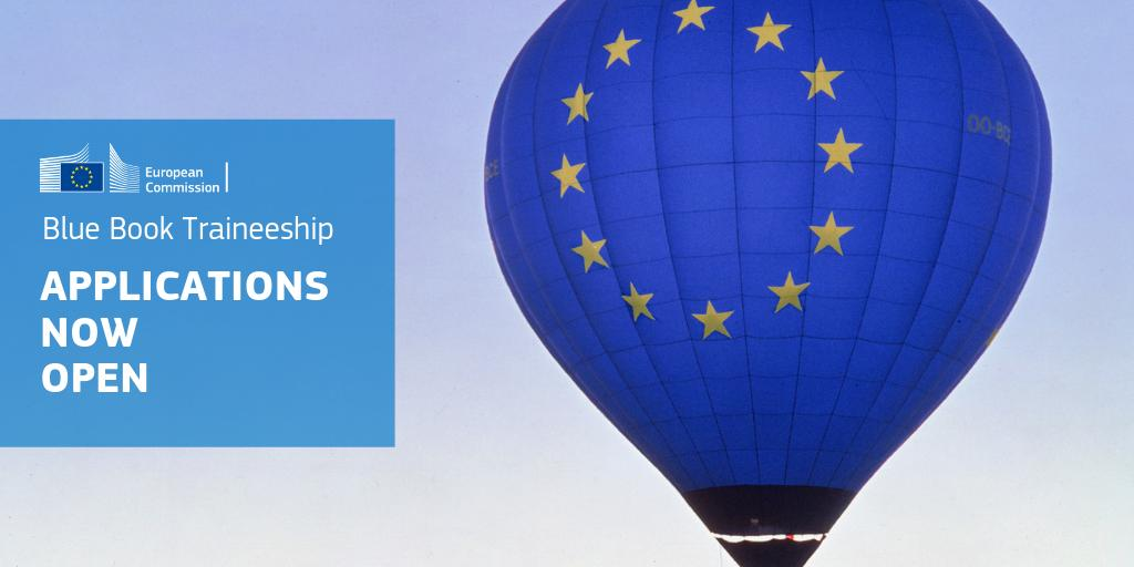 European Commission March 2020 Blue Book Traineeship (Paid)