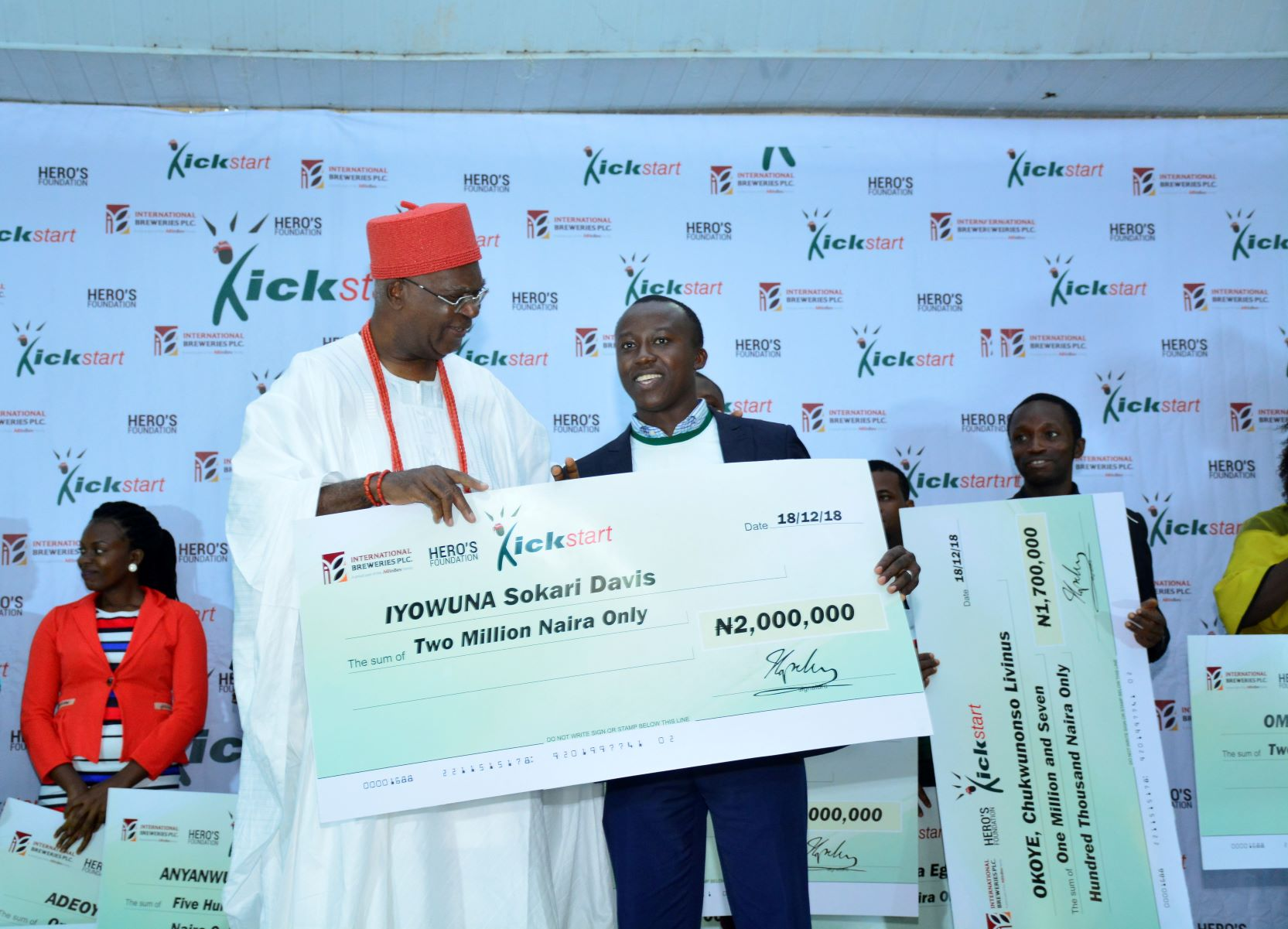 International Breweries Foundation Kickstart Programme 2019 for Nigerian Entrepreneurs