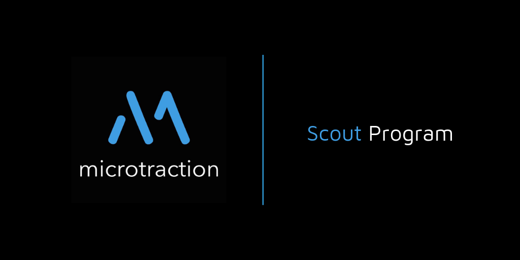 Microtraction Scout Program 2019