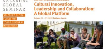 Salzburg Global Forum for Young Cultural Innovators in Salzburg 2019 (Fully-funded)