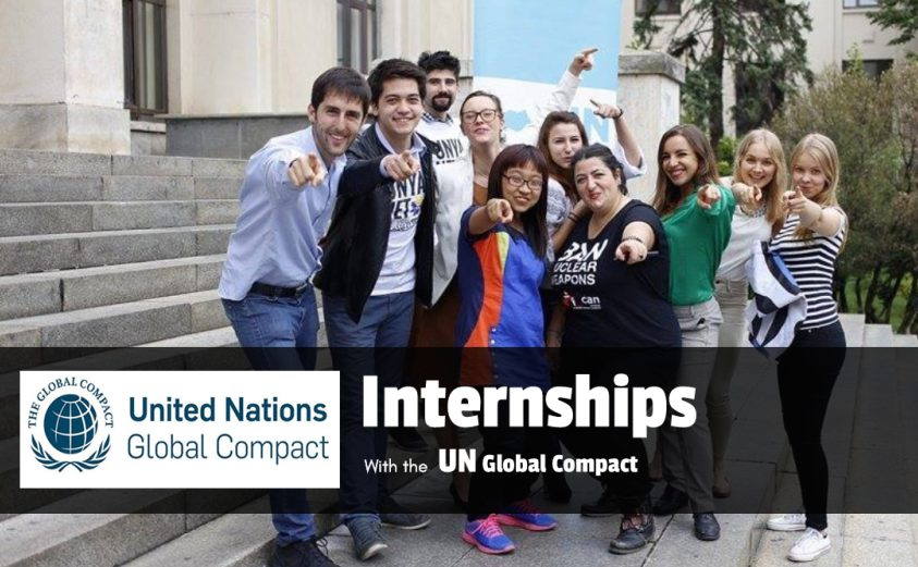 UN Global Compact Internship Programme – Fall 2019 in New York, USA