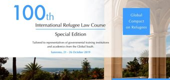 UNHCR/IIHL 100th International Refugee Law Course 2019 (Fully-funded)