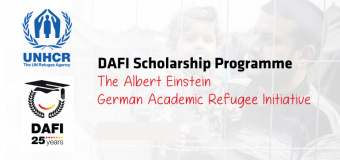 UNHCR DAFI (Albert Einstein German Academic Refugee Initiative) Scholarship Programme 2019