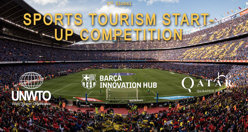 1st UNWTO Global Tourism and Sports Startup Competition 2019