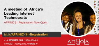 AFRINIC Fellowship to attend AFRINIC-31 Meeting in Luanda, Angola (Fully-funded)