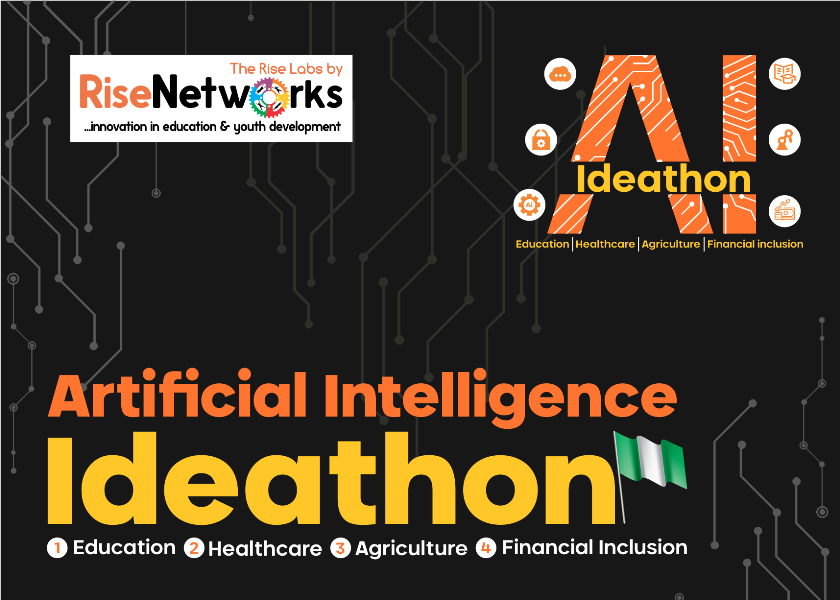Rise Labs 2019 Artificial Intelligence Ideathon across Nigeria (Amazing prizes to be won)