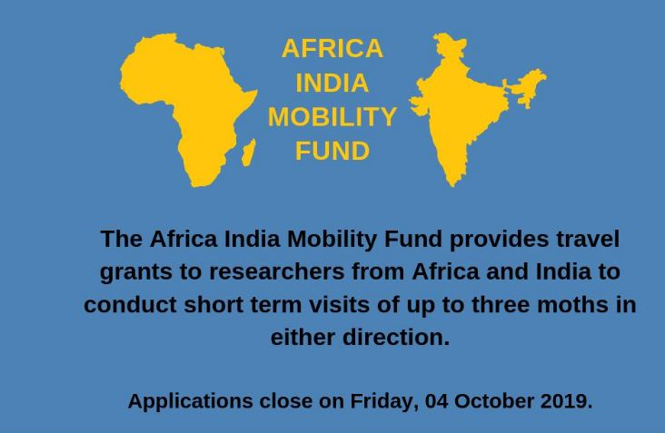 African Academy of Sciences (AAS) Africa India Mobility Fund 2019