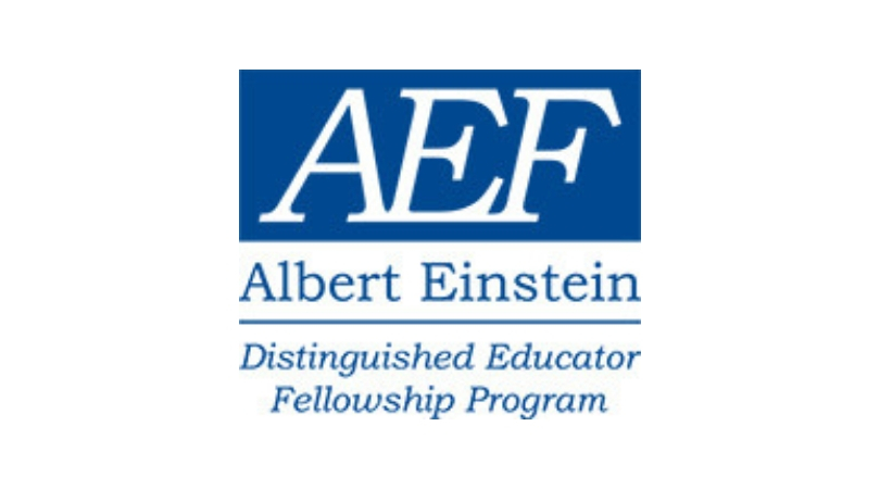 Albert Einstein Distinguished Educator Fellowship Program 2020-2021 for U.S. Educators (fully-funded)