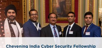 Chevening India Cyber Security Fellowship 2020/2021 for Mid-career Professionals (Fully-funded)