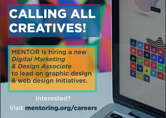 Apply for the Digital Marketing & Design Associate Job at MENTOR