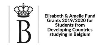 Elisabeth & Amelie Fund Grants 2019/2020 for Students from Developing Countries studying in Belgium