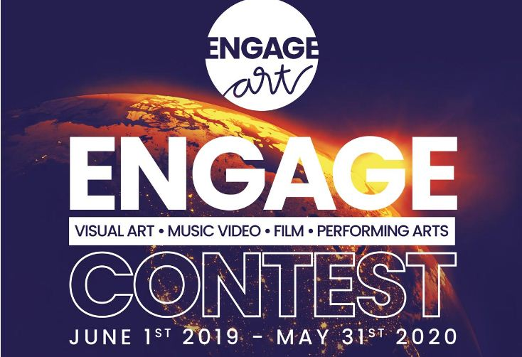 Call for Entries: Engage Art Contest in North America 2019/2020 ($100,000 Total cash prizes)