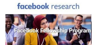 Facebook Fellowship Program 2020 for PhD Students (Up to $37,000 grant plus more)