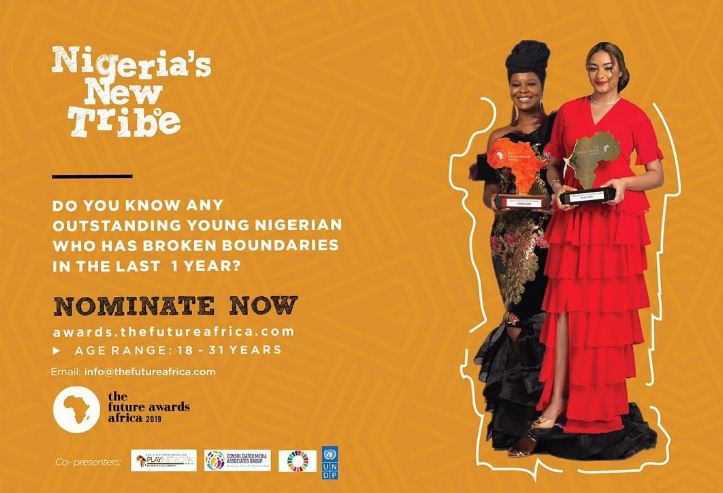 Call for Nominations: The Future Awards Africa 2019 for Outstanding Young People