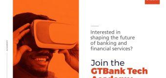 GTBank Tech Academy 2019 for Young Nigerian Graduates