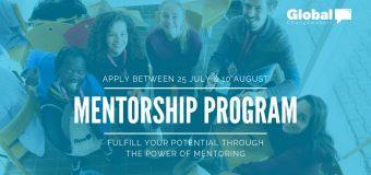 Global Changemakers Mentorship Programme 2019
