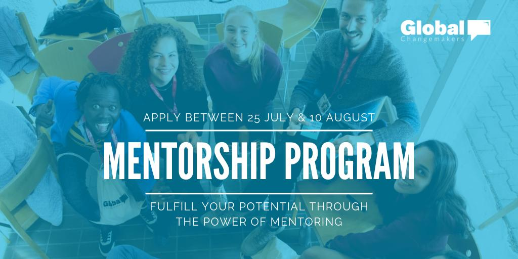 Global Changemakers Mentorship Programme 2019