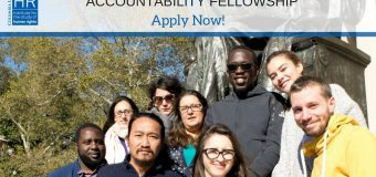 ISHR Alliance for Historical Dialogue and Accountability (AHDA) Fellowship 2020 at Columbia University in New York City