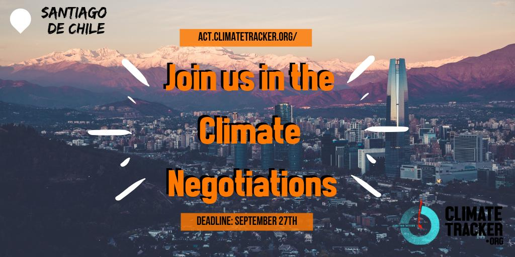 Join Climate Tracker at the COP25 Climate Negotiations in Chile (Fully-funded)