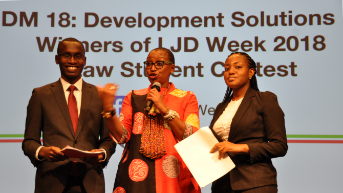 LJD Week 2019 Law Student Contest for Development Solutions (Win funded trip to World Bank HQ in Washington, DC)