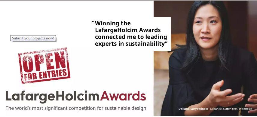 LafargeHolcim Awards Competition 2019/2020 (USD $2,000,000 Prize money)