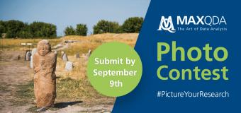 MAXQDA #PictureYourResearch Photo Contest 2019