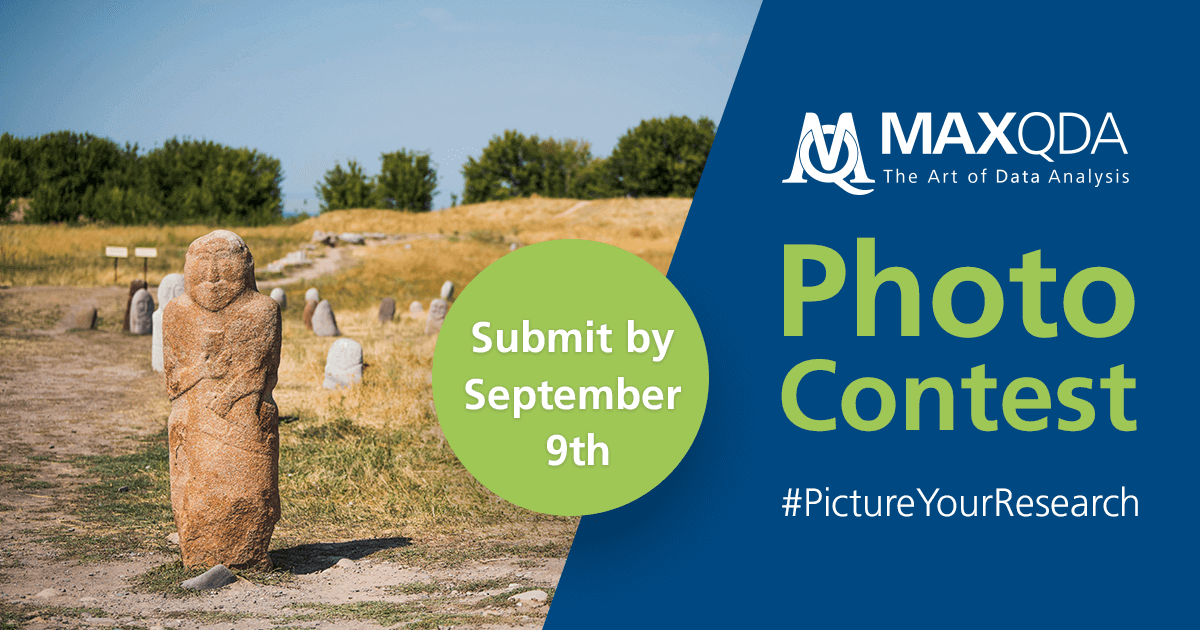 MAXQDA #PictureYourResearch Photo Contest 2019