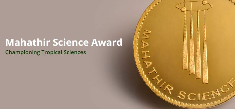 Mahathir Science Award 2019 for Tropical Medicine and Tropical Natural Resources (USD $100,000 cash prize)