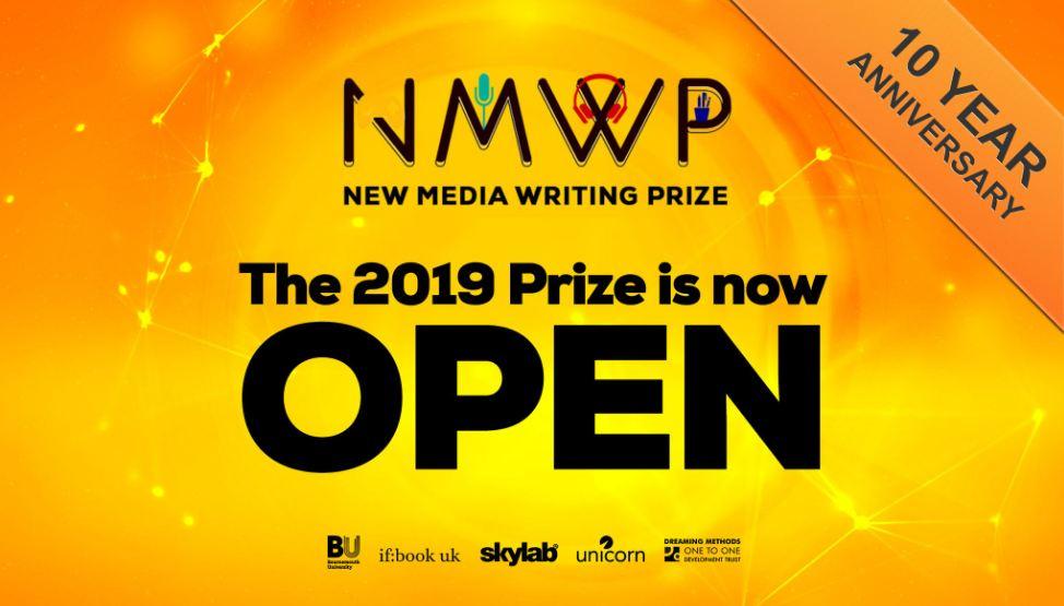 New Media Writing Prize 2019 – International Award for Innovative Writers