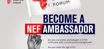 Next Einstein Forum (NEF) Country Ambassadors Programme 2019