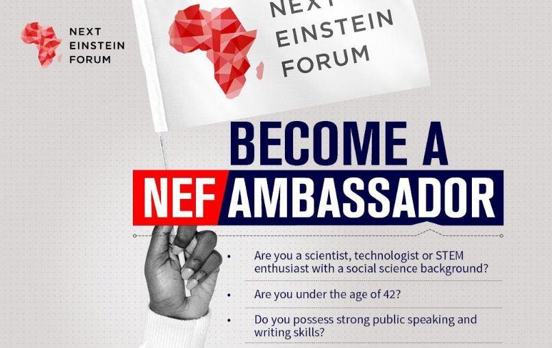 Next Einstein Forum (NEF) Country Ambassadors Programme 2019