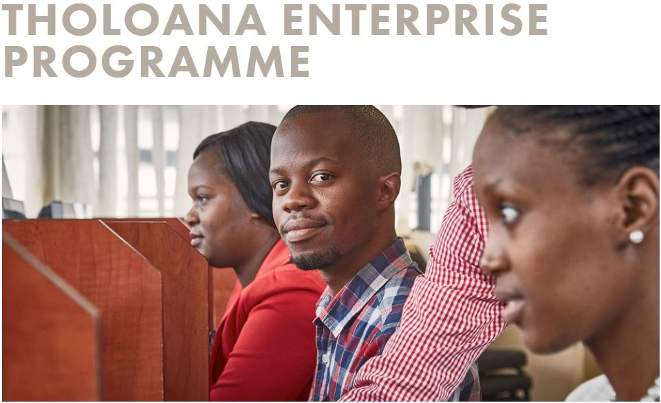 SAB Foundation Tholoana Enterprise Programme 2019 for South Africans