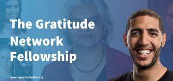 The Gratitude Network Fellowship 2020 for Social Entrepreneurs serving children and youth