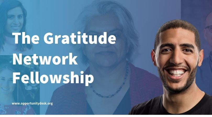 The Gratitude Network Fellowship 2020 for Social Entrepreneurs serving children and youth