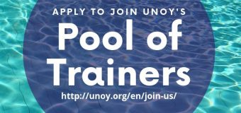 Call for Young International Trainers: United Network of Young (UNOY) Peacebuilders' Pool of Trainers