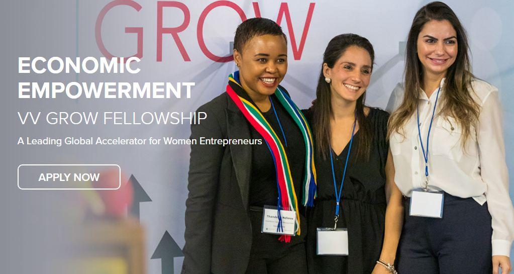 Vital Voices (VV) GROW Fellowship 2020 for Women Entrepreneurs (Scholarship available)