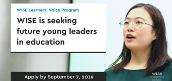 WISE Learners' Voice Program 2019/2020 for Future Young Leaders (Fully Funded to Doha, Qatar)