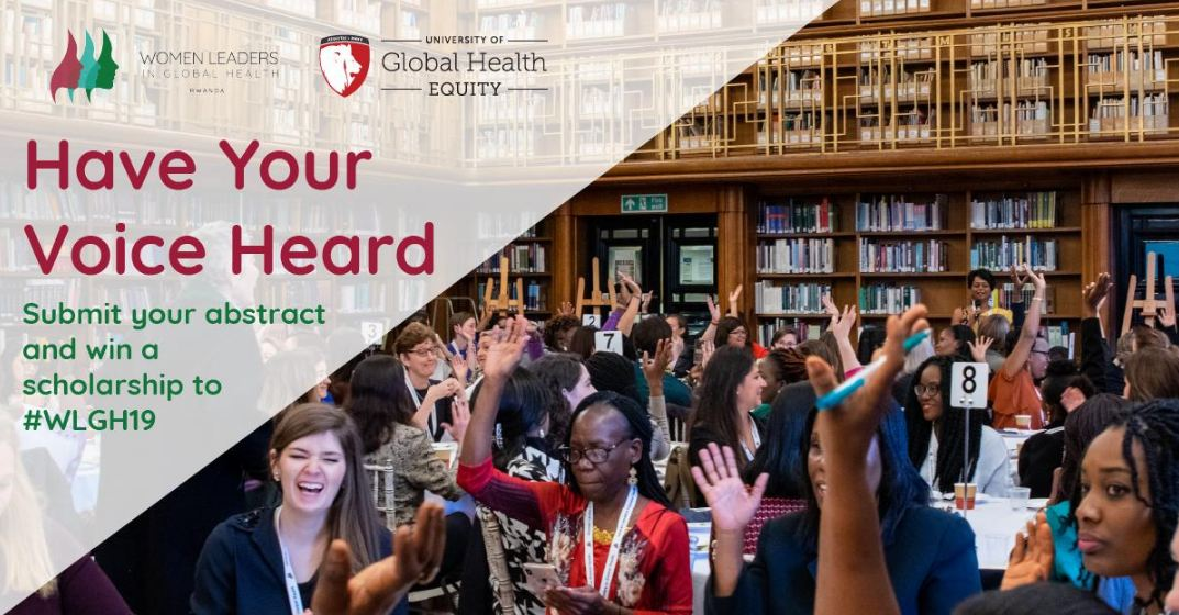 Call for Abstracts: Women Leaders in Global Health Program 2019 (Scholarship available)