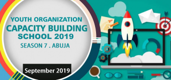 Apply for Youth Organisation Capacity Building School (YOCBS) Season 7 in Abuja, Nigeria