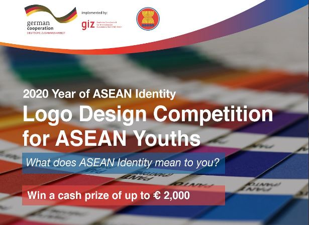 ASEAN Identity Logo Design Competition 2020 for ASEAN Youths (Cash prize of €2,000)