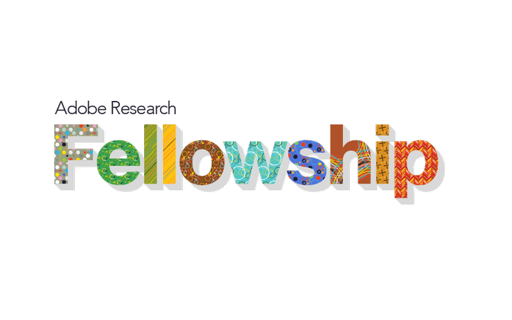 Adobe Research Fellowship Program 2020 for Graduate Students (Up to $10,000 award)
